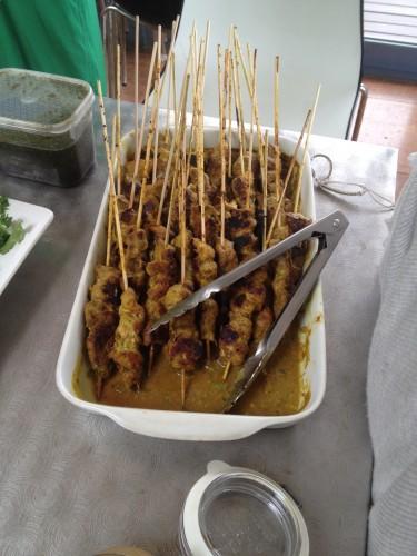 Pork Satay Skewers