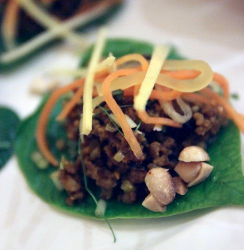 Up close with the betel leaf