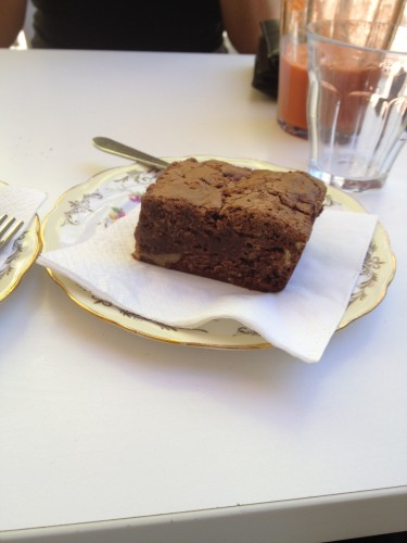 Chocolate Pecan Brownie