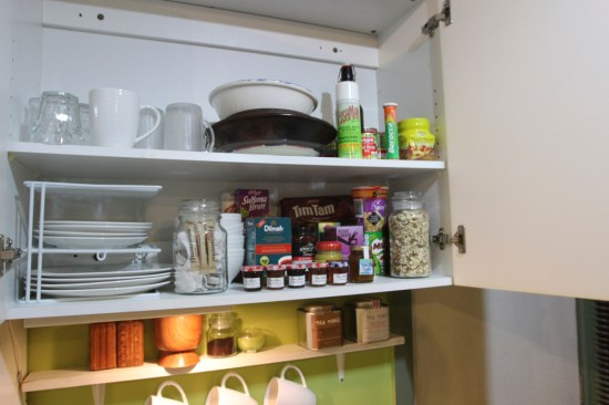 Everything you need in the kitchen cupboard