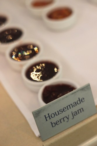 House-made berry jam