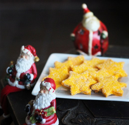 Santas's guarding the edible stars