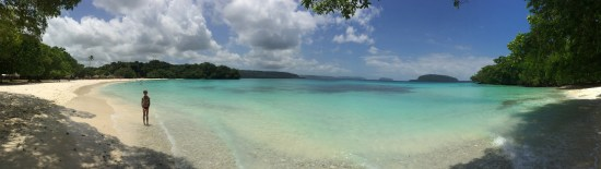 An aqua lagoon