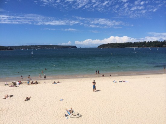 Autumn in Sydney at Balmoral Beach
