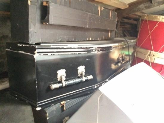 Coffins!  A popular choice?