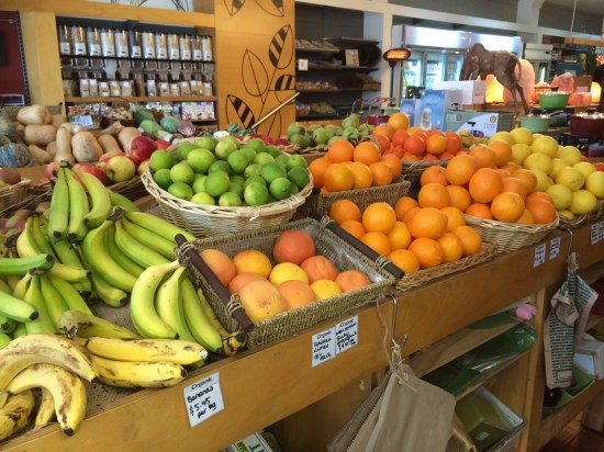 A great range of produce