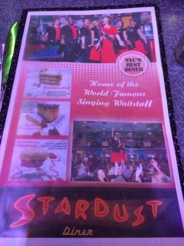 The large menu