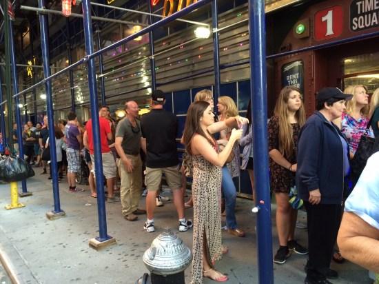 The 50mtr queue