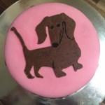 A Dud Dachshund Cake