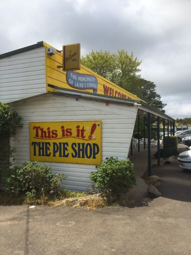 The famous pie shop