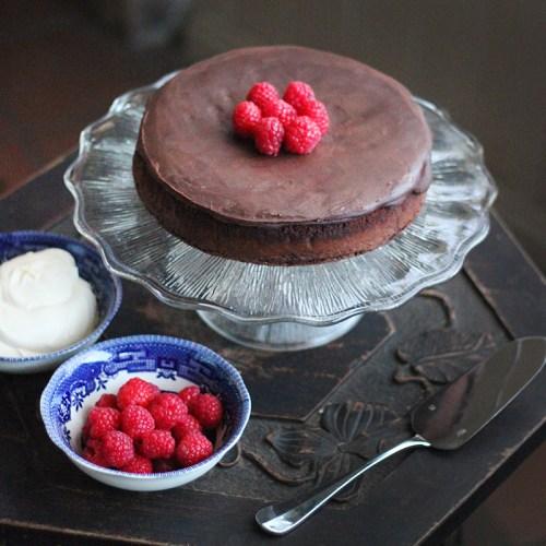 Flourless Double Chocolate Cake