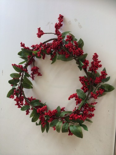 A welcome wreath