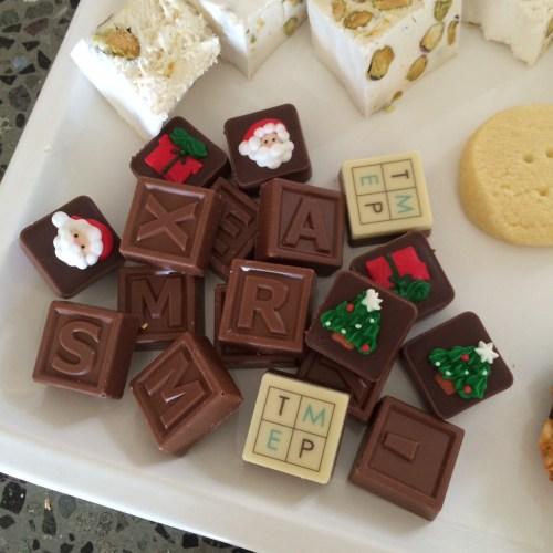 Christmas chocolates from Paris