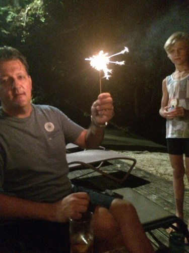 And you can't have fireworks without sparklers