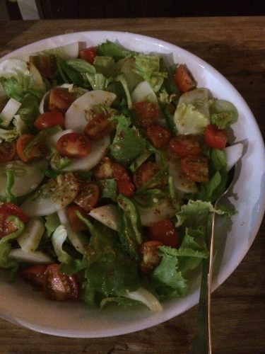 BBQ night - green salad
