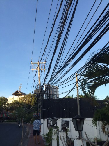 So many electrical wires are a blight on the landscape