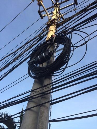 A few wires