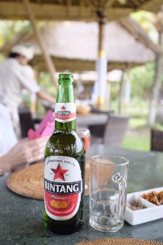 Bintang local beer