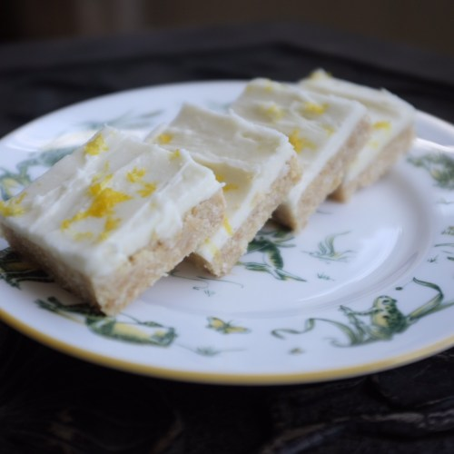 No-Bake Lemon Slice