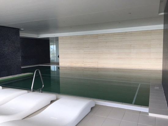 Indoor heated lap pool