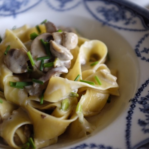 Use a mixture of mushrooms for added flavour