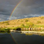 Willow Creek Hot Springs Rainbow Pic