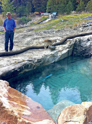 Natural Pool at The Springs
