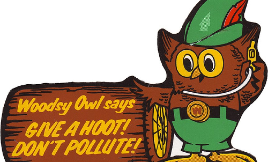 Give a Hoot - Don&#039;t Pollute!