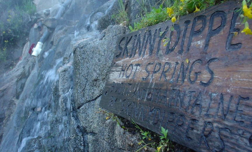 Skinnydipper Hot Springs Closure