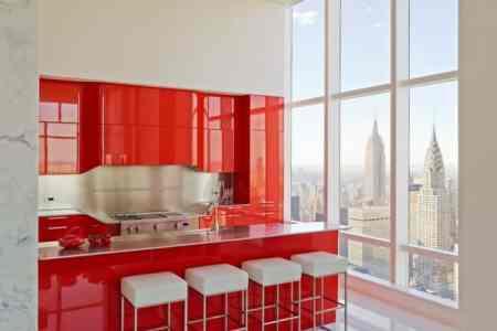 kitchen design ideas red kitchen house interior