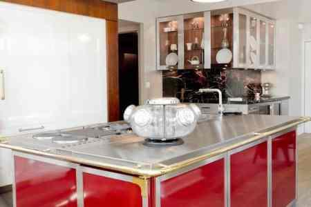 red kitchen decor kitchen design ideas red kitchen kitchen design red furniture 2