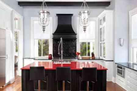 red kitchen decor kitchen design ideas red kitchen kitchen design red furniture 8