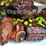 Grilled Ginger Soy Short Ribs