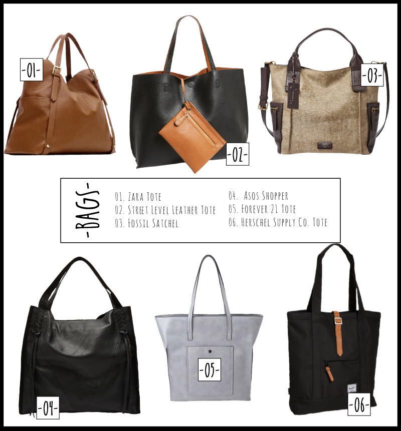 Bags-collage