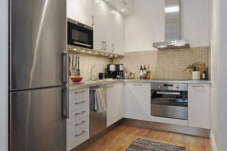 20 spacious small kitchen ideas