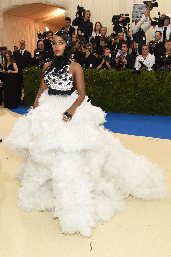 Janelle Monáe in Ralph & Russo and Tiffany jewelry