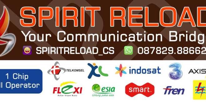Spirit Reload merupakan Server Pulsa Cirebon