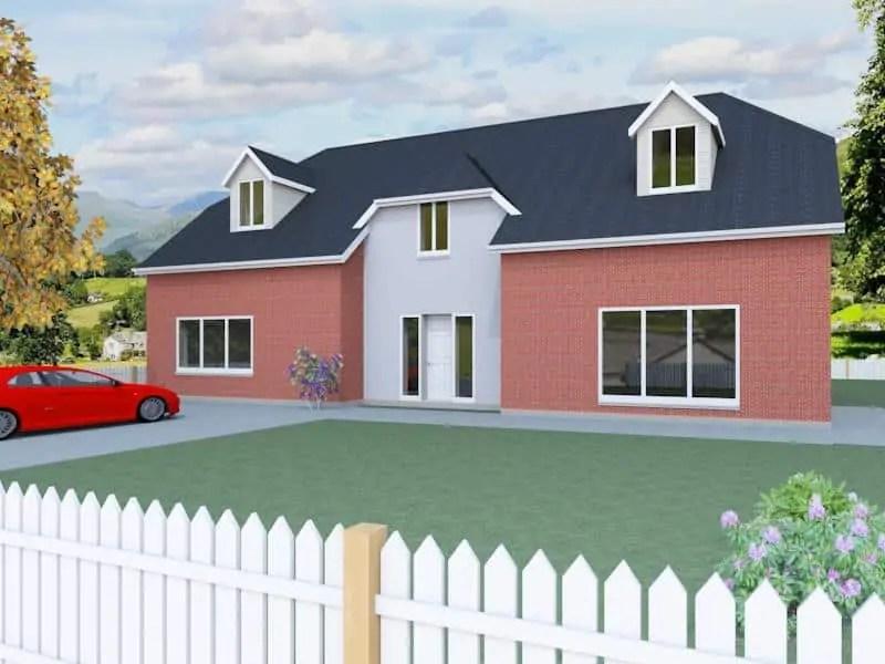 Dormer Bungalow Designs The Berrington Houseplansdirect