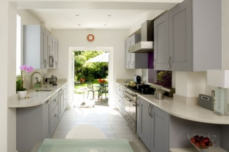 galley kitchen | kitchen design | decorating ideas
