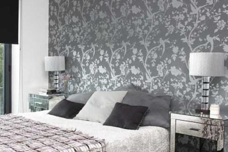 bedroom with patterned | bedroom designs | gl