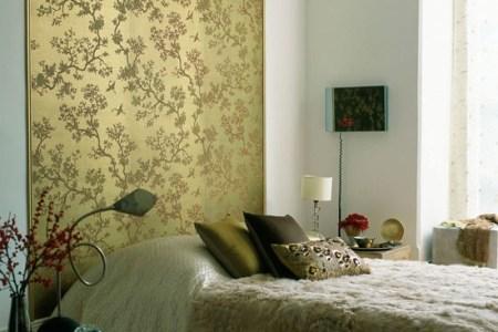 make an eye catching headboard | bedroom ideas