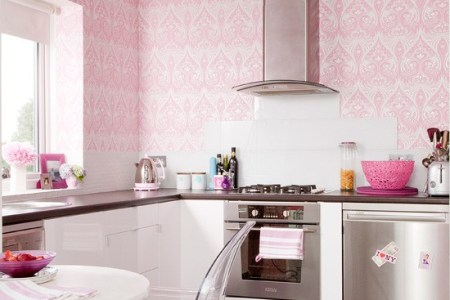 kitchen ideas pink girlie kitchen