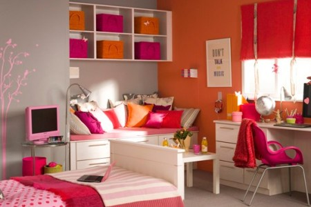 vint girl's bedroom | teenage girls bedroom ideas