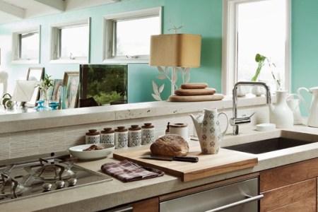 fresh contemporary kitchen