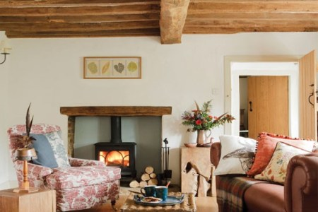 cosy country living room