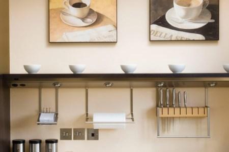 install lighting under shelving | best kitchen shelving