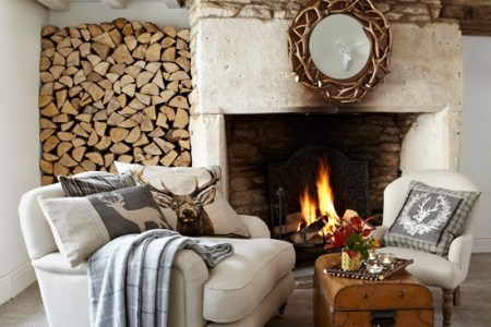 rustic living room country homes and interiors housetohome
