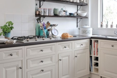 open shelving country kitchen ideas style at home housetohome
