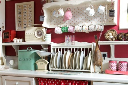 pretty curtain country kitchen ideas style at home housetohome