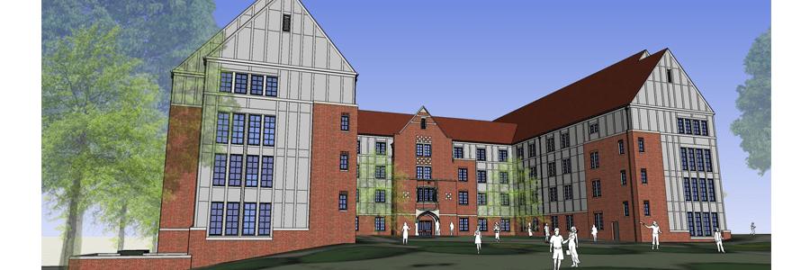 Phase 3 West Campus Redevelopment University Housing